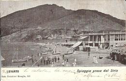 LEVANTO - SPIAGGIA PRESA DAL SIRIO - La Spezia