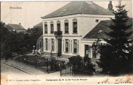 1 Oude  Postkaart   Broechem   Buitenverblijf V Dr. Van De Weyer     Uitgever  Hoelen  N°527   1904 - Ranst