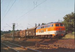 Diesel - Streckenlokomotive 218 143 - 6 - Trains