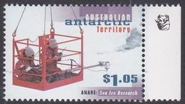 Australian Antarctic Territory ASC 112a 1997 Anare $ 1.05 Sea Ice Research 1 Koala Reprint, Mint Never Hinged - Australian Antarctic Territory (AAT)