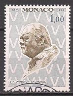 Monaco  (1974)  Mi.Nr.  1122  Gest. / Used  (9bc10) - Gebraucht
