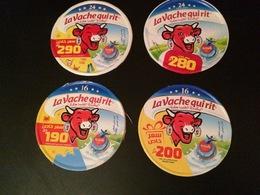 LA VACHE QUI RIT-ETIQUETTES PROMOTIONNELLES. - Cheese
