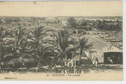 AFRIQUE - DAHOMEY - KOTONOU - Vue Générale - Dahomey