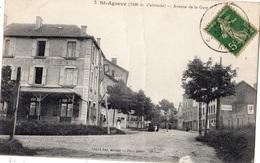 SAINT-AGREVE AVENUE DE LA GARE - Saint Agrève