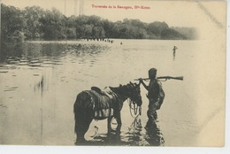 AFRIQUE - REPUBLIQUE CENTRAFRICAINE - HAUTE KOTTO - Traversée De La Boungou - Central African Republic