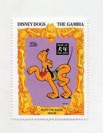 Gambia - 1994 - Disney Dogs - Pluto - Francobollo Tematica Disney - Nuovo - (FDC11292) - Gambia (1965-...)