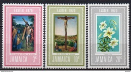 Jamaique - 1970 - Yvert N° 312 à 314 **  - Pâques - Jamaica (1962-...)