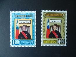 TIMBRE CHINE  FORMOSE  N° 566 / 567  NEUF ** - Ungebraucht