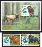 1997 - GRENADA -  Mi. Nr. 2512/2513 + BL 325 - NH - (UP.207.28) - Zimbabwe (1980-...)