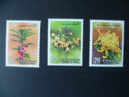 TIMBRE CHINE  FORMOSE  N° 1756 / 1758     NEUF **   FLEUR  FLOWER - 1945-... République De Chine