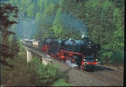 Dampf - Lokomotiven 01 100 Und 23 105 - Trains