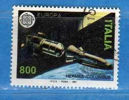 Italia ° - Anno 1991 - EUROPA , CEPT. LIRE 800. Unif. 1984.    Vedi Descrizione. - 1991-00: Used