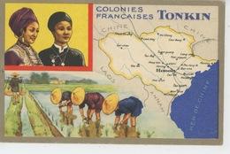 COLONIES FRANÇAISES - ASIE - VIET NAM - TONKIN - Edit. Spéciale Des Produits Du LION NOIR - Viêt-Nam