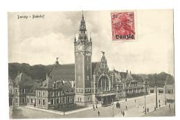 DANZIG , BAHNHOF - Danzig
