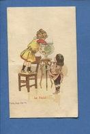 RUFFEC AU BON MARCHÉ  Germain Rousseau Place D'armes Jolie Chromo Imp Camis Enfant Bocal Poisson Rouge - Chromos