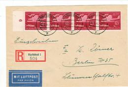 """III. Reich, Sehr Schöner REKO Luftpost Brief Mit Michel Nr. 867 MeF."""" Karlsbad 1 - Berlin W 35 """" - Deutschland"""