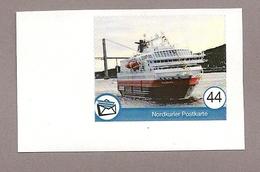 Privatpost - Nordkurier - Schiff, Ship - Hurtigruten Polarlys - Schiffe