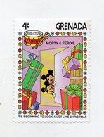 Grenada - 1983 - Francobollo Tematica Disney - Natale - Morty & Ferdie - Nuovo - (FDC11297) - Grenada (1974-...)