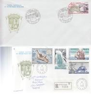 TAAF. 2  LETTRES  / 2 - Französische Süd- Und Antarktisgebiete (TAAF)