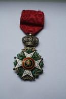 Médaille Militaire Ordre De Léopold I - Belgium