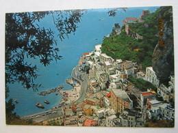 CP Italie  ATRANI  Costiera Amalfitana  - Panorama  Du Village  Et Du Port - Salerno