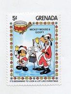 Grenada - 1983 - Francobollo Tematica Disney - Natale - Mickey & Goofy - Nuovo - (FDC11298) - Grenada (1974-...)