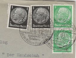 1939 Cover RABENSTEIN Unterirdisch Felsdome GERMANY Stamps - Germany