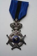 2 Médailles Militaires Ordre De Léopold II, 2 Formats Différents - Belgium