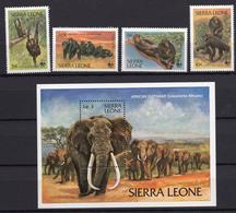 1983 - SIERRA LEONE -  Mi. Nr. 2380/2382 - NH - (UP.207.29) - Sierra Leone (1961-...)
