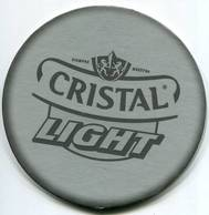 Lote CH24, Chile, Posavaso, Coaster, Cristal, Light, Redonda - Portavasos