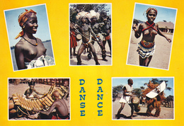 AFRIQUE  / SCENES DU FOLKLORE AFRICAIN / DANSES / NON SITUEES - Cartes Postales
