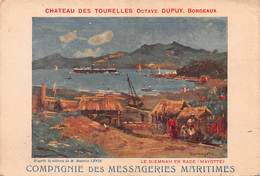 CPA MESSAGERIES MARITIMES - Le DJEMNAH En Rade ( Mayotte ) - Kenya