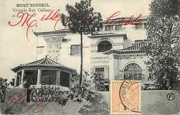 Pays Div : Ref M422- Portugal - Mont Estoril - Vivenda Rey Collaco - Carte Bon Etat - - Portugal