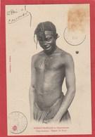 CPA: Congo Français - Type Andassa - Région Du Niari - Scarifications (Editeur Audema) - Congo Francese - Altri
