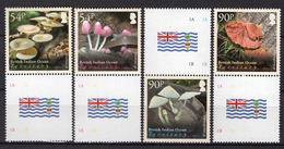 2009 - BRITISH INDIAN OCEAN TERR -  Mi. Nr. 504/507- NH - (UP121.6) - Territorio Britannico Dell'Oceano Indiano