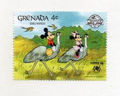 Grenada - 1988 - Francobollo Tematica Disney - Emù Wren - Nuovo - (FDC11304) - Grenada (1974-...)