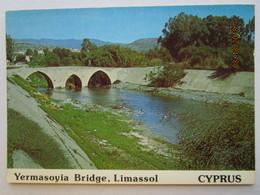 CP Chypre  Cyprus  LIMASSOL  -  Yermasoyia  Bridge  - Le Pont De Yermasoyia - Cyprus
