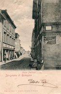 SAVIGNANO DI ROMAGNA-CORSO PERTICARI- 1903- - Modena