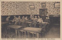 Vincennes 94 - Ecole Militaire D'Administration - Cercle Des Elèves Officiers - Editions Sartony - Vincennes