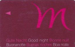FRANCIA KEY HOTEL   Mercure - Gute Nacht - Good Night - Bonne Nuit - Hotel Keycards
