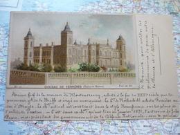 Château De Ferrières N°27 Collé Sur Carte Postale - Lombart