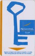 FRANCIA KEY HOTEL  Novotel Key (www.novotel.com) - Hotel Keycards
