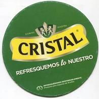 Lote CH27, Chile, Posavaso, Coaster, Cristal,  Refresquemos Lo Nuestro - Portavasos