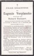 Oostduinkerke, Brugge, 1925, Eugenie Verplancke, Coolsaert - Religion & Esotérisme