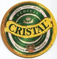 Lote CH29, Chile, Posavaso, Coaster, Cristal, Unica Grande - Portavasos