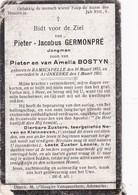 Ramscappel, Ramscapelle, Ramskapelle,Adinkerke, 1922, Pieter Germonpré, Bostyn - Religion & Esotérisme