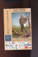 Belgie Andre Buzin Birds Aankondiging Expo Hornu 2007 - 1985-.. Oiseaux (Buzin)