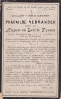 Ramscappel, Ramscapelle, Ramskapelle, Kaaskerke, Caeskerke, 1909, Pharailde Vermander, Pysson - Religion & Esotérisme