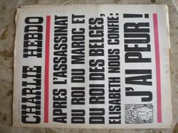 CHARLIE HEBDO - N°93 Du 28/08/1972 - Après L'assassinat Du Roi Du Maroc Et Du Roi Des Belges, Elisabeth Nous Confie: J'A - Journaux - Quotidiens