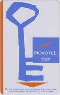 FRANCIA KEY HOTEL   Novotel Key - Hotel Keycards